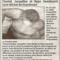 Article midi libre Saint Michel de Grandmont